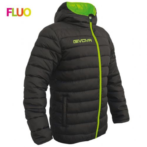 GIUBBOTTO OLANDA black & fluo & green